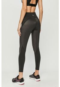 Czarne legginsy Puma melanż #4