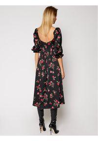 For Love & Lemons Sukienka codzienna Rosie CD2215 Czarny Regular Fit. Okazja: na co dzień. Kolor: czarny. Typ sukienki: proste. Styl: casual