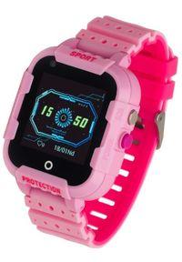 GARETT - Smartwatch Garett Kids 4G Różowy. Rodzaj zegarka: smartwatch. Kolor: różowy. Styl: wakacyjny, klasyczny
