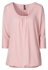 "Shirt ""oversize"" bonprix stary róż. Kolor: różowy. Styl: retro"
