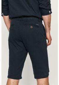 Niebieskie szorty Tom Tailor casualowe, na co dzień, gładkie
