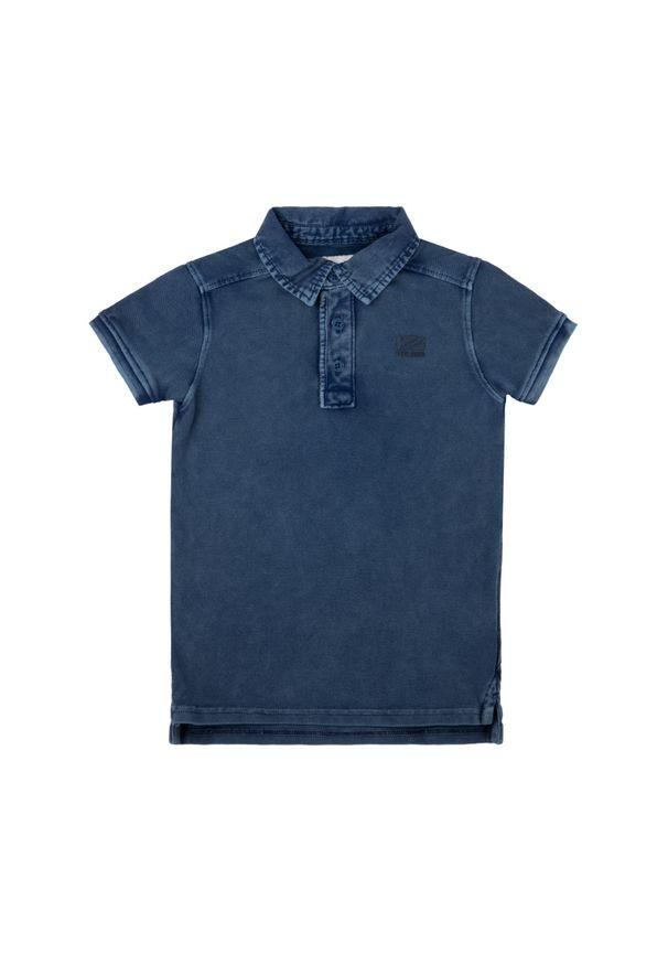 Niebieski t-shirt polo Pepe Jeans polo
