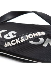 Jack & Jones - Jack&Jones Japonki Jfwlogo 12169407 Czarny. Kolor: czarny