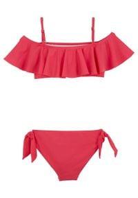 Bikini dziewczęce (2 części) bonprix różowy. Kolor: różowy #2