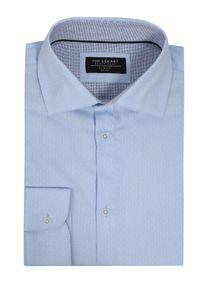 Niebieska koszula TOP SECRET długa, z długim rękawem