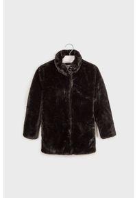 Czarny płaszcz Mayoral casualowy, bez kaptura #5