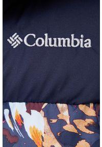 columbia - Columbia - Bezrękawnik. Okazja: na co dzień. Kolor: niebieski. Długość rękawa: bez rękawów. Styl: casual