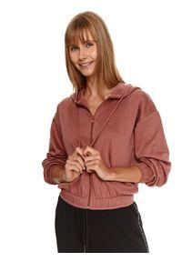 TOP SECRET - Rozpinana bluza z bawełną. Materiał: bawełna