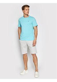 Tommy Jeans Szorty materiałowe Scanton DM0DM11076 Szary Slim Fit. Kolor: szary. Materiał: materiał