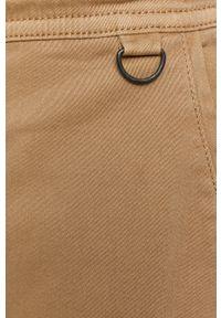 medicine - Medicine - Spodnie Basic. Okazja: na co dzień. Kolor: beżowy. Materiał: tkanina. Wzór: gładki. Styl: casual