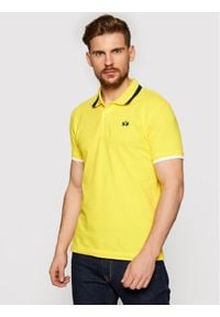 La Martina Polo RMP006 PK001 Żółty Slim Fit. Typ kołnierza: polo. Kolor: żółty