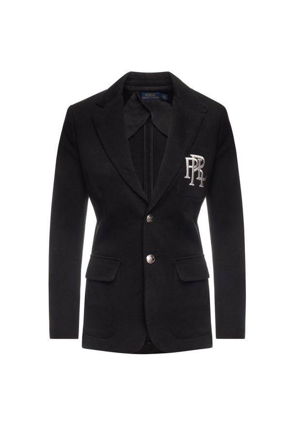 Czarny żakiet Polo Ralph Lauren polo