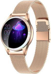 Złoty zegarek oromed smartwatch