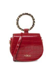 Czerwona torebka klasyczna Nobo klasyczna