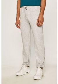 Szare spodnie dresowe Kappa melanż