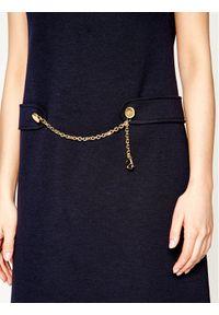 Niebieska sukienka Luisa Spagnoli