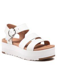 Białe sandały Ugg