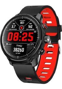 Czerwony zegarek Frahs smartwatch