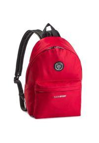 Czerwony plecak Plein Sport sportowy
