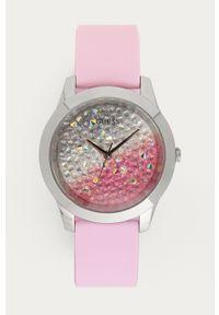 Różowy zegarek Guess Jeans