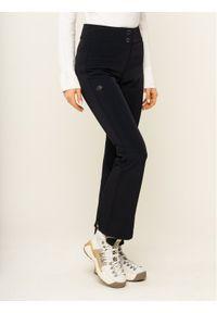 Czarne spodnie sportowe Descente narciarskie