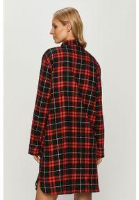 Czerwona piżama DKNY długa