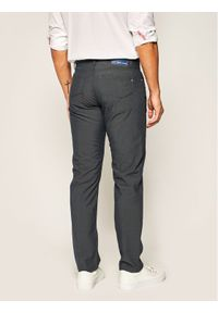 Pierre Cardin Spodnie materiałowe 30917/000/269 Szary Regular Fit. Kolor: szary. Materiał: elastan, poliester, materiał, bawełna