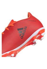 Adidas - Buty dla dzieci piłkarskie korki adidas X Speedflow.4 FXG FY3319. Zapięcie: sznurówki. Materiał: syntetyk. Szerokość cholewki: normalna. Sport: piłka nożna
