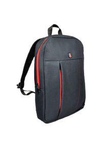 Czarny plecak na laptopa PORT DESIGNS elegancki