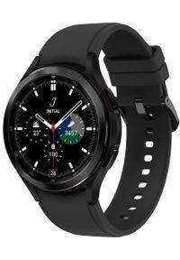 SAMSUNG - Samsung Galaxy Watch4 Classic 46mm Black. Kolor: czarny. Styl: militarny