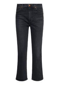 Wrangler Jeansy Wild West W2H2KO96B Czarny Regular Fit. Kolor: czarny