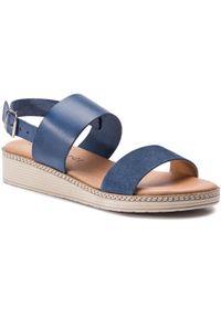 Niebieskie sandały Sergio Bardi na co dzień, casualowe