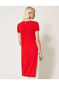 Czerwona bluzka TwinSet