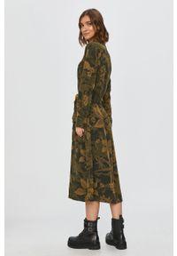 Sukienka Desigual rozkloszowana, casualowa