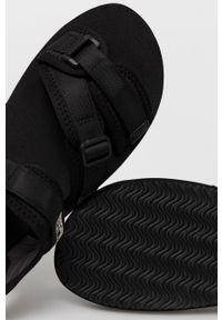 Czarne sandały Napapijri na rzepy