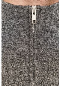 Szary sweter Tailored & Originals krótki, z długim rękawem