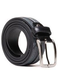 U.S. Polo Assn - Pasek Męski U.S. POLO ASSN. - Derry Men's Belt 35H Calf WIUYD2206MPI000 Black. Kolor: szary. Materiał: skóra ekologiczna, skóra