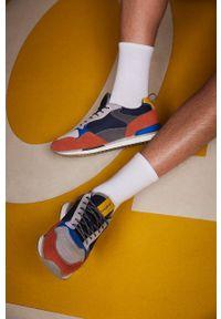 HOFF - Hoff - Buty DUSSELDORF. Nosek buta: okrągły. Zapięcie: sznurówki. Materiał: guma