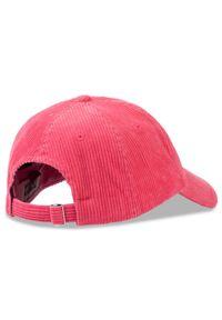 Różowa czapka Tommy Jeans sportowa