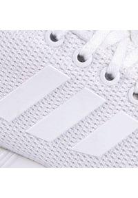 Białe buty sportowe Adidas Adidas ZX Flux, z cholewką, na co dzień
