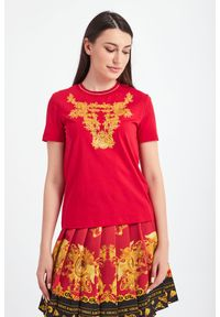 Versace Jeans Couture - T-SHIRT VERSACE JEANS COUTURE. Okazja: na co dzień. Materiał: materiał. Styl: casual #4