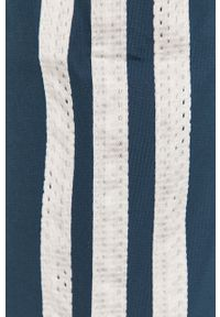 Niebieskie spodnie dresowe adidas Performance gładkie