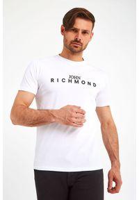 John Richmond - T-SHIRT FEDERICK JOHN RICHMOND. Wzór: napisy. Styl: klasyczny
