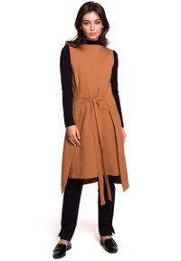 Sukienka dzianinowa MOE bez rękawów