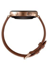 Złoty zegarek SAMSUNG elegancki, smartwatch