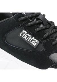 Versace Jeans Couture Sneakersy 71VA3SC2 Czarny. Kolor: czarny
