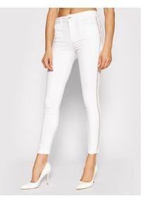 Białe jeansy slim Liu Jo