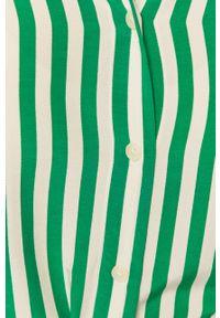 TOMMY HILFIGER - Tommy Hilfiger - Koszula. Okazja: na co dzień. Kolor: zielony. Długość rękawa: długi rękaw. Długość: długie. Styl: casual