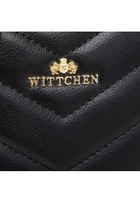 Wittchen - Torebka WITTCHEN - 92-2E-658-1 Czarny. Kolor: czarny. Materiał: skórzane. Styl: wizytowy