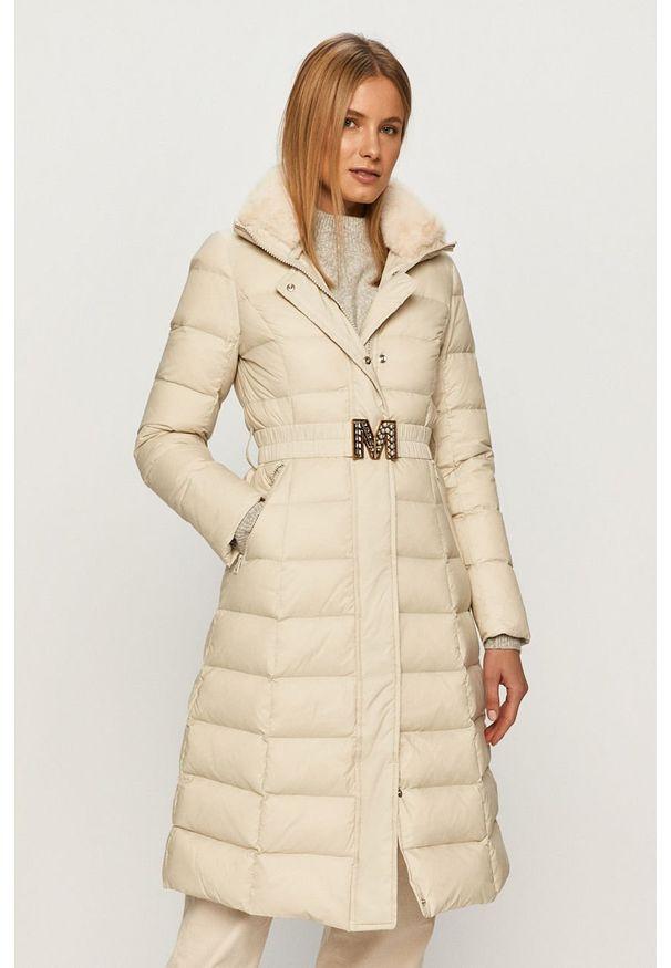 Kremowa kurtka Miss Sixty bez kaptura, klasyczna, na co dzień